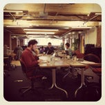Photo taken at Workbar by Jenny P. on 1/30/2012