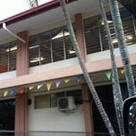 Photo taken at SMK Bandaraya (SMK Menggatal) by Melissa S. on 7/5/2012