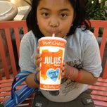 Photo taken at Orange Julius by Alberto P. on 2/20/2012