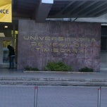 Photo taken at Universitatea de Vest by Marica A. on 4/26/2012