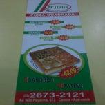 Photo taken at D'Itália Pizza Quadrada by Emanoel C. on 10/9/2011