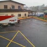 Photo taken at Pejabat Pos Manir by Mista A. on 11/23/2011