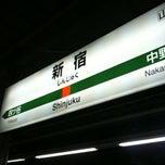 Photo taken at 新宿駅 (Shinjuku Sta.) by ikko on 3/13/2011