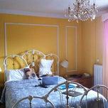 Photo taken at Chateau de l'Argoat by Nicole B. on 8/27/2012