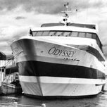 Photo taken at Odyssey Cruises by Andrew B. on 6/26/2012
