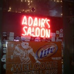 Photo taken at Adair's Saloon by Peter H. on 10/8/2011