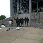 Photo taken at Joe Paterno Statue by Keith M. on 7/21/2012