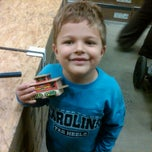 Photo taken at Lowe's Home Improvement by Rhett H. on 12/3/2011