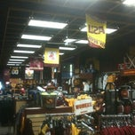 Photo taken at Sparky's Stadium Shop by Ellen Streiff on 12/9/2011