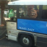 Photo taken at Pacific Coach Lines Bus Depot by Geoff T. on 10/19/2011