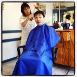 Photo taken at May's Barber Shop by Marie W. on 3/10/2012