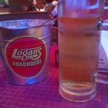 Photo taken at Logan's Roadhouse by David M. on 5/5/2012