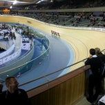 Photo taken at London 2012 Velodrome by Hayden P. on 2/16/2012