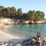 Photo taken at Cala Turqueta by Marco Gamba P. on 8/27/2012