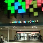 Photo taken at Shopping Metrópole by Caroline B. on 7/9/2012