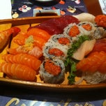 Photo taken at Hinote Sushi by Steven H. on 5/27/2012