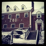Photo taken at Gamma Phi Beta by Mary W. on 3/2/2012