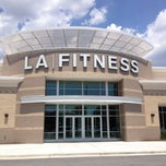 Photo taken at LA Fitness by Vince L. on 6/23/2012
