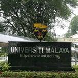 Photo taken at Universiti Malaya (University of Malaya) by James M. on 9/1/2012