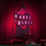 Photo taken at House of Blues by Shari R. on 4/18/2012