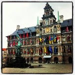 Photo taken at Gemeentehuis Antwerpen by Barend D. on 5/22/2012