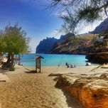 Photo taken at Cala Molins by Tommy S. on 5/4/2012