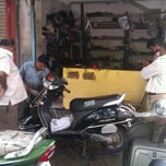 Photo taken at Chheda garage by Shreyax S. on 4/25/2012