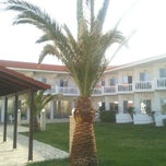 Photo taken at Chryssana Beach Hotel by Minas L. on 5/11/2012
