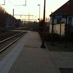 Photo taken at Gare De Havré by Adriano D. on 3/23/2012