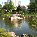 Photo taken at Swan Lake by Becky C. on 4/23/2012