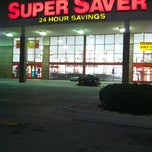 Photo taken at Super Saver by Julie N. on 5/17/2012
