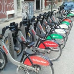 Photo taken at Station BIXI by JulienF on 5/30/2012