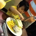 Photo taken at Cheezbox Cafe & Restaurant by Jo Ann P. on 6/5/2012