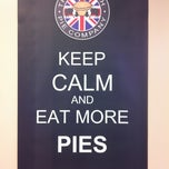 Photo taken at The English Pork Pie Company by Jim M. on 4/28/2012
