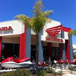 Photo taken at Huntington Beach Honda Motorcycles by Gabe on 6/28/2012