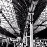 Photo taken at Heathrow Express Train - Paddington [PAD] to Heathrow [HXX] by Steven E. on 7/5/2012