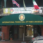 Photo taken at International Tennis Hall of Fame by Jake S. on 6/23/2012