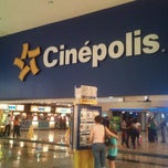 Photo taken at Cinépolis by 'Ivette B. on 7/9/2012