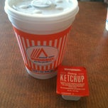 Photo taken at Whataburger by Julie A. on 7/6/2012