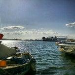 Photo taken at Bostanlı by Mert on 4/21/2012