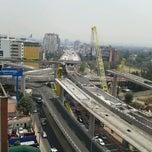 Photo taken at Distribuidor Vial Luis Cabrera by Rodrigo A. on 4/24/2012