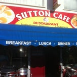 Photo taken at Sutton Cafe & Restaurant by Phil T. on 7/30/2012