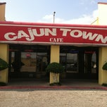 Photo taken at Cajun Town Café by Leonard N. on 5/25/2012