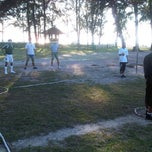 Photo taken at gelanggang takraw sibu island resort mersing,johor by Bennedick A. on 2/23/2012