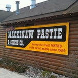 Photo taken at Mackinaw Pastie & Cookie Co. by Robert E. on 4/15/2012