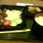 Photo taken at Hoka Hoka Bento by Tya R. on 3/1/2012