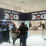 Photo taken at Gameworld 2012 by Igor O. on 3/30/2012