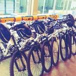 Photo taken at Bicicletário by Erich K. on 7/7/2012