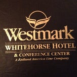 Photo taken at Westmark Whitehorse Hotel by Mark R. on 5/27/2012