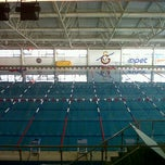 Photo taken at Galatasaray Spor Kulübü Yüzme Şubesi by Dogan A. on 9/7/2012